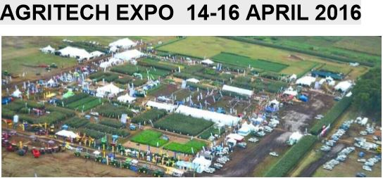 Agritech Expo 14-16 April