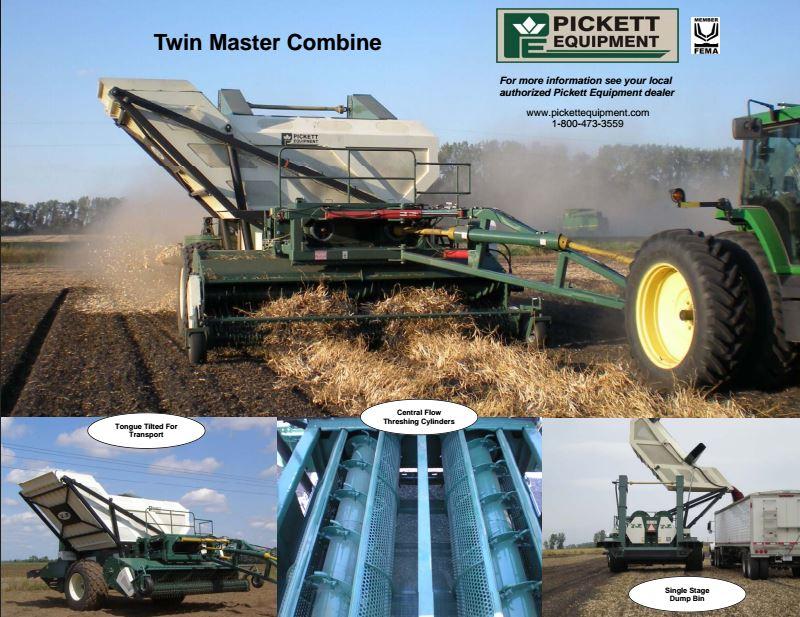Picket Twin Master Combine